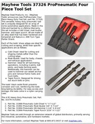Mayhew Tools 37326 ProPneumatic Four Piece Tool Set