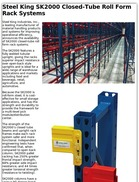 Steel King SK2000 Closed-Tube Roll Form Rack Systems