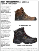 KEEN KONNECTFIT Heel-Locking System Foot Wear