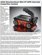GSSI StructureScan Mini XT GPR Concrete Inspection System