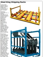 Steel King Shipping Racks