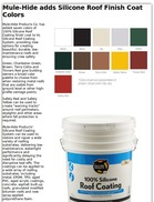 Mule-Hide adds Silicone Roof Finish Coat Colors