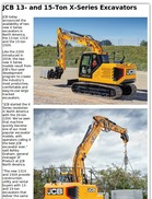 JCB 13- and 15-Ton X-Series Excavators