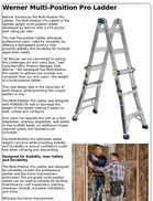 Werner Multi-Position Pro Ladder
