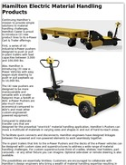 Hamilton Electric Material Handling Products