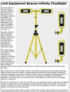 Lind Equipment Beacon Infinity Floodlight