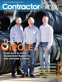 Contractor Supply Magazine, December 2014/January 2015: Guaranteed Supply