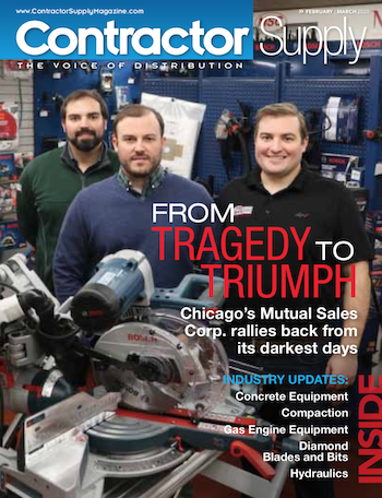 Contractor Supply Magazine, February/March 2020: Mutual Sales Corp., Chicago