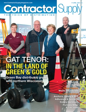 Contractor Supply, April/May 2016: GAT Tenor, Green Bay, Wisconsin