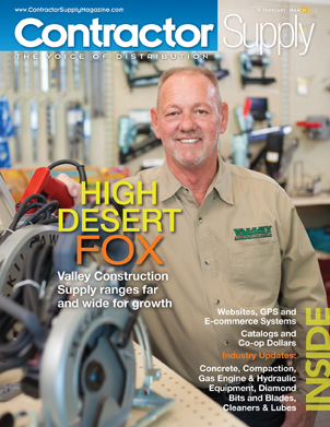 Contractor Supply Magazine, February/March 2016: Valley Construction Supply, Lancaster, California