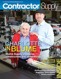 Contractor Supply Magazine, April/May 2013, Blume Supply, Charlotte, NC