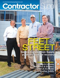 Contractor Supply Magazine, December 2011/January 2012: Service Construction Supply Puts Feet on the Street
