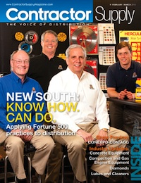 Contractor Supply Magazine, February/March 2014: New South Construction Supply