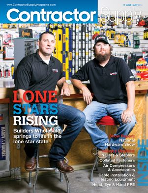 Contractor Supply, June/July 2016: Builders Wholesale, Dickinson, TX