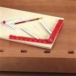 The Miter Divider ensures the perfect miter cut every time.