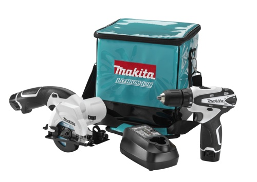 Makita's new 12V max Lithium-ion cordless two-piece combo kit, which bowed at the show, exemplifies the company's drive to provide both innovation and value for the contrector.