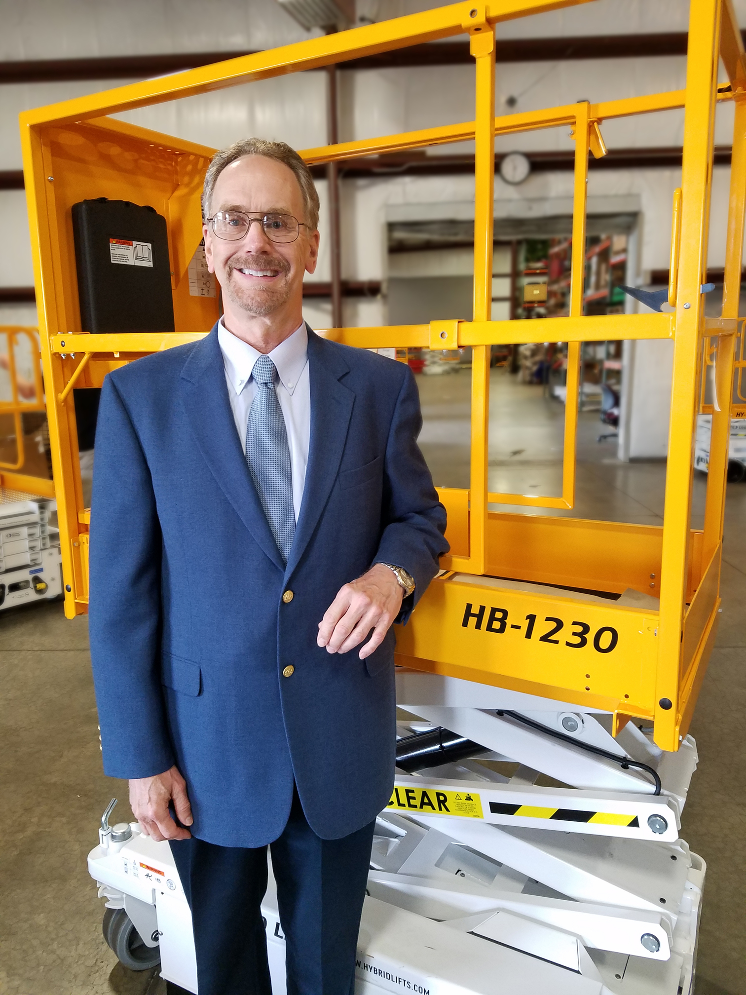Custom Equipment, Inc. welcomes David Carlson as its new North American sales manager.