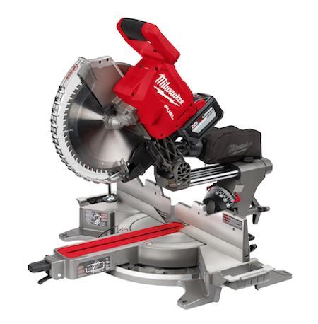 A new M18 FUEL 12-pinch Dual Bevel Sliding Compound Miter Saw with ONE-KEY tracking capability is 15 percent lighter than corded competitors and is compatible with the entire M18 system.