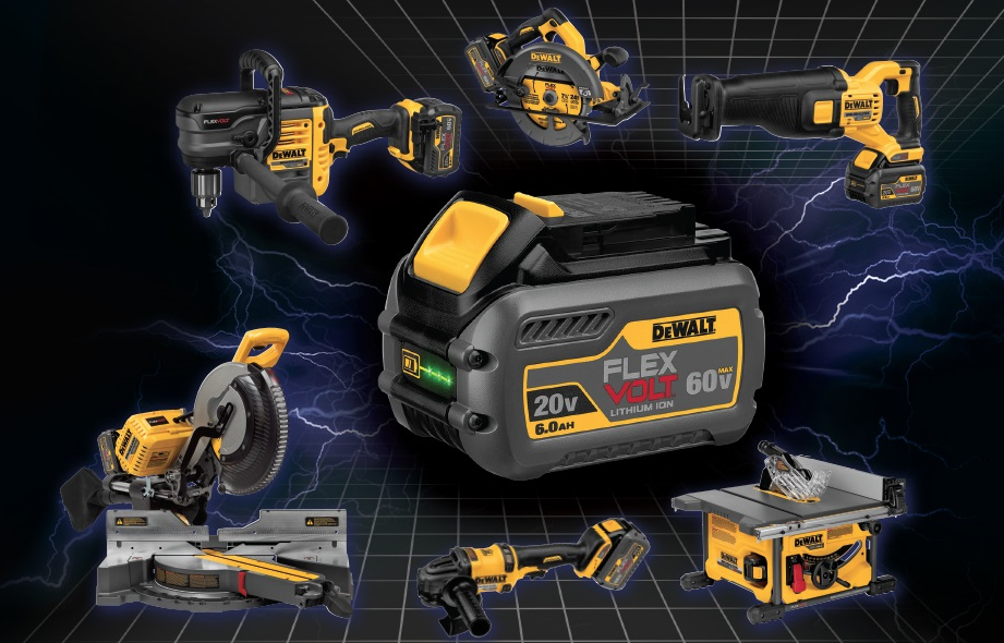 Acme Tools Launches DEWALT FLEXVOLT system online - Contractor