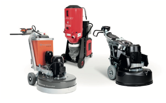 With global development of the surface preparation industry growing, Husqvarna has recently acquired two other leading players in the field – HTC Floor Grinding Solutions and Pullman Ermator.