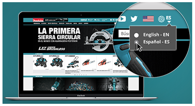 MAKITA launches Spanish website viewing - Contractor Supply