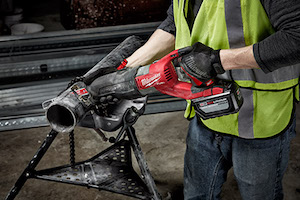 The Milwaukee M18 FUEL SUPER SAWZALL Recip Saw is the first cordless solution of its kind, generating the power of a 15amp corded recip saw.