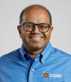 Suresh Krishna, President and Chief Executive Officer, Northern Tool + Equipment