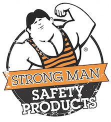 Strong Man Becomes Strong Man Safety ProductsStrong Man Logo
