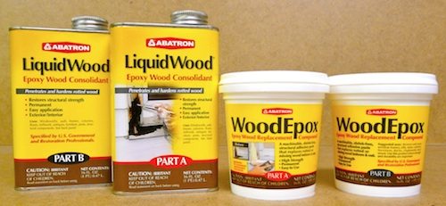 epoxy resin wood filler