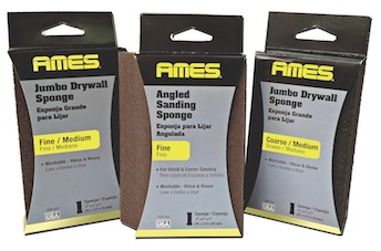 Abrasives: Ames Drywall Sanding Sponges, Discs and Sheets