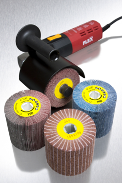 – CGW-Camel Grinding Wheels is introducing a metal surface drum sander and flap wheel drum line for large scale metal finishing.