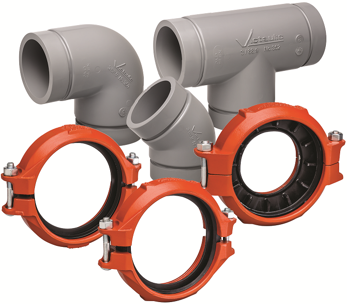 Victaulic grooved joining solution for cpvc pipe