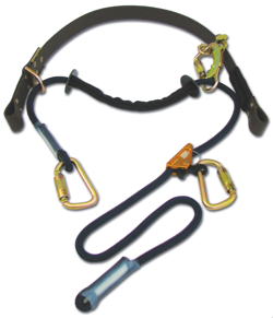"The Cynch-Lok fall restricting pole strap is the most user-friendly device of its kind, offering effortless adjustments and a unique design that will ""cynch"" around a pole to limit fall distances when used correctly."