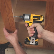 The DeWalt 12 Volt MAX* impact driver and impact wrench are virtually identical except for their transmissions.