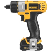 The new DeWalt 12 Volt MAX* cordless Screwdriver.