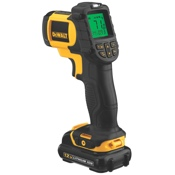 The new DeWalt 12 Volt MAX* cordless IR Thermometer