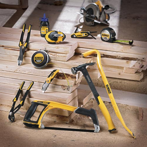 Dewalt is launching 130-plus new hand tools over the next few months, and that's just for starters.
