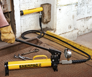 Enerpac announces their new ULTIMA series of steel hand pumps designed for easier and safer operation, as well as extended life.