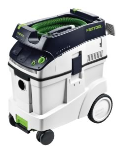 The Festool model CT 48 E Dust Extractor represents the most evolved, most complete dust removal system available today.