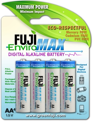 Fuji EnviroMAX batteries.