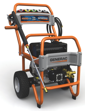 Generac's all-new six-model commercial and residential pressure washer