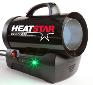 Cold has nowhere to hide with the introduction of Heatstar's Cordless forced air propane heater. This highly engineered product will revolutionize the portable heating category offering contractors portability, power, and convenience never before achieved.