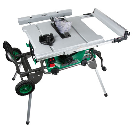Hitachi c10rj 10 inch jobsite table saw contractor for 10 hitachi table saw