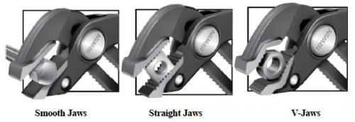 IRWIN Tools introduces two new jaw configurations to its line of best-in-class IRWIN VISE-GRIP GrooveLock Pliers.