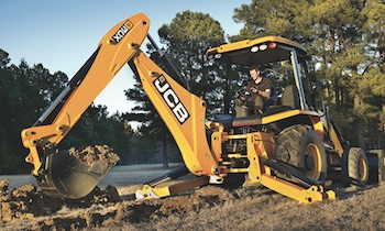 JCB's popular entry-level 3CX, a 14-foot full-size backhoe loader built in Savannah, GA, is now available with pilot controls.