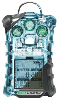 The new MSA Altair 4X multigas detector features XCell sensor technology