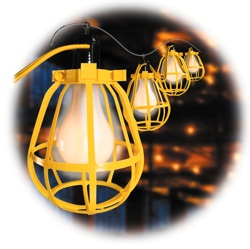 McGill String-O-Lights Temporary Lighting Systems are now offered in a commercial-duty flat-wire version that meets OSHA and NEC requirements.  sc 1 st  Contractor Supply Magazine & Cords u0026 Lights: McGill Temporary Lighting - Contractor Supply Magazine azcodes.com