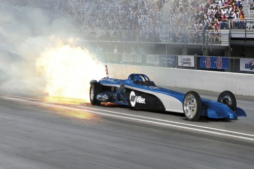 The Miller Jet Dragster will engage NHRA and motorsports enthusiasts at all levels through dozens of appearances. Come for the car and stay to weld—fans are encouraged to participate in hands-on welding demonstrations