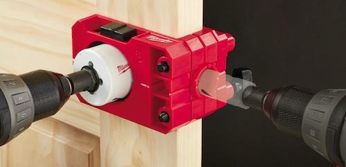 Drill Bits Milwaukee Door Lock Installation Kit & Drill Bits: Milwaukee Door Lock Installation Kit - Contractor Supply ...