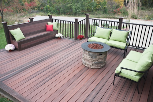 Threaded fasteners camo hidden deck fastening system gets for Envision decking